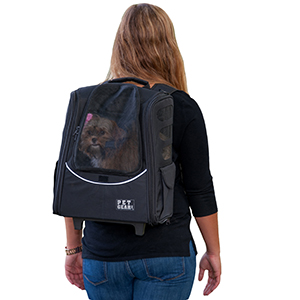 Pet Gear I Go Escort Roller Backpack For Cats And Dogs